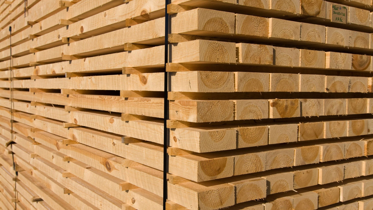 Pine Timber drying